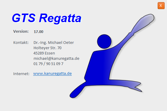 Screenshot Info Regatta
